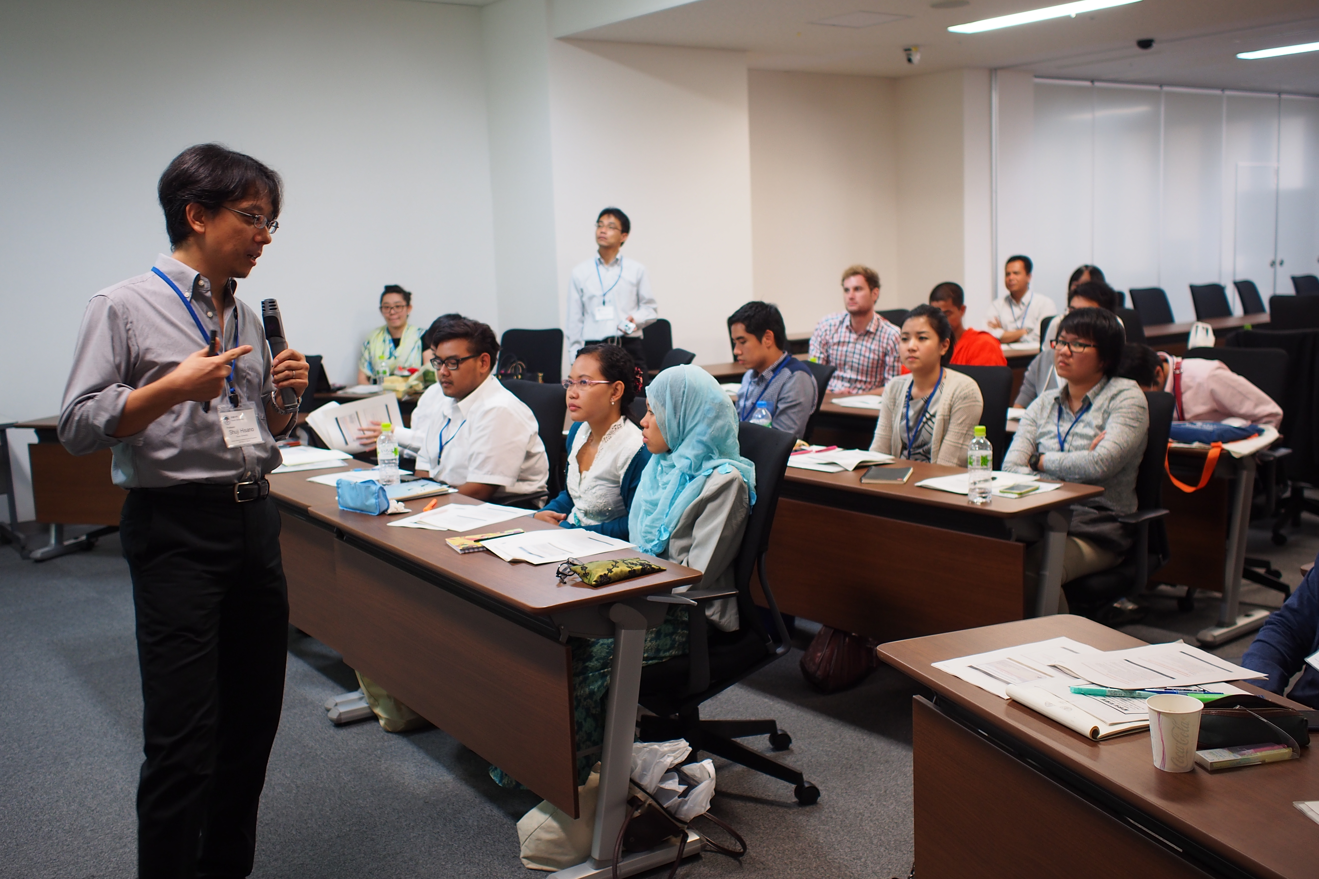Lecture by Prof. Hisano